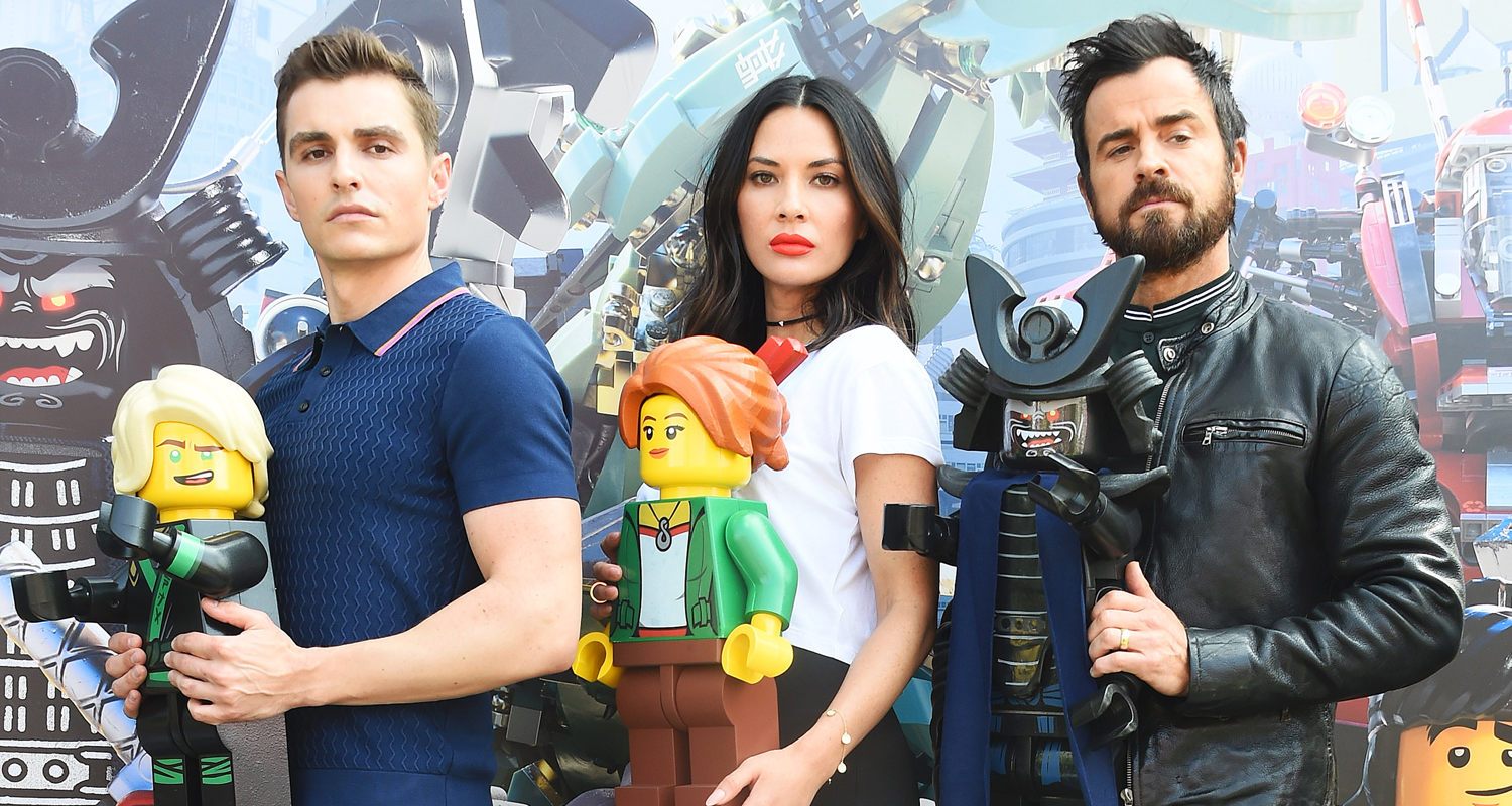 The Lego Ninjago Movie -Cast