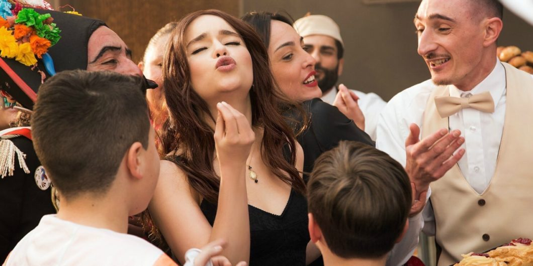 Emilia Clarke looks adorable in the new Dolce & Gabbana 'The One' campaign